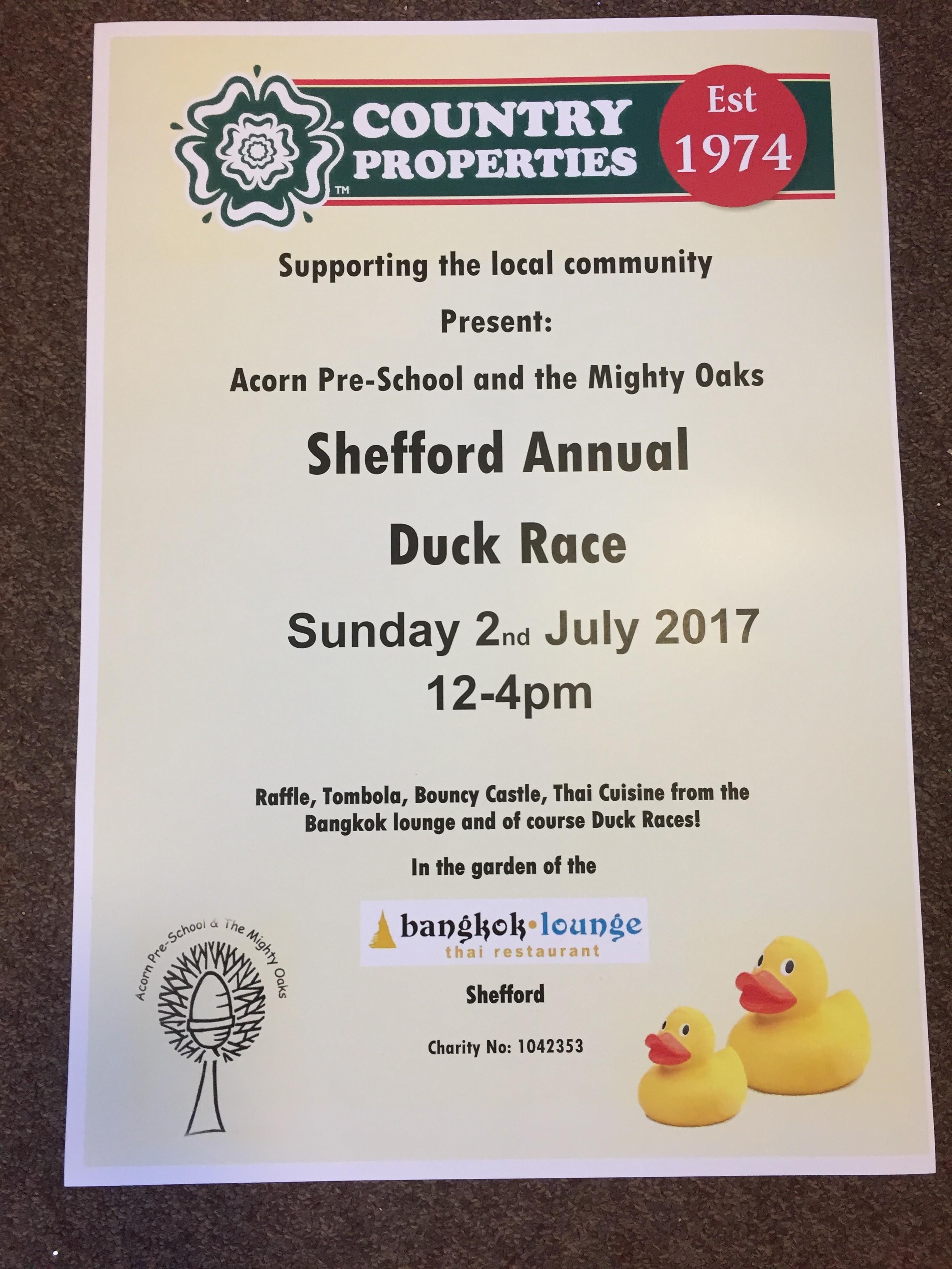 Duck Race 2 July 2017
