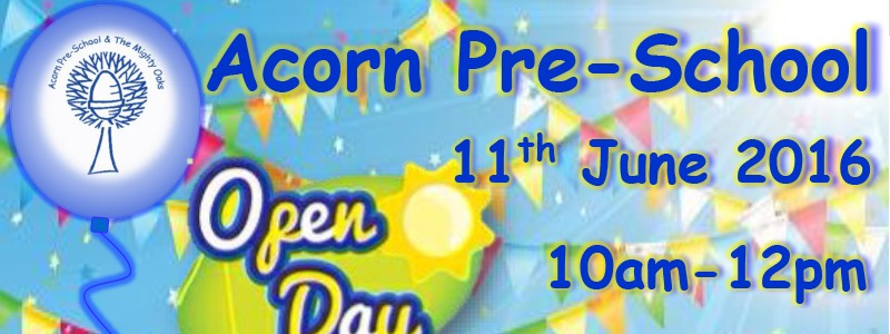 Acorn Pre-School Open Day