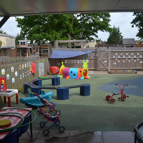 Our Garden and playground